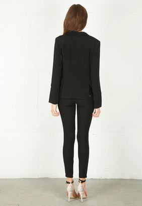 Naven Blazer in Black -