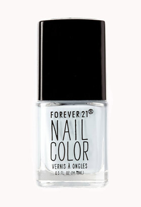 Forever 21 Baby Blue Nail Polish