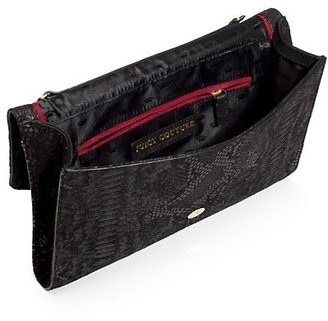 Juicy Couture Topanga Leather Convertible Tech Clutch