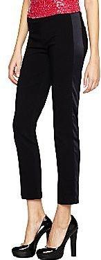 JCPenney Alyx® Satin-Inset Tuxedo Pants
