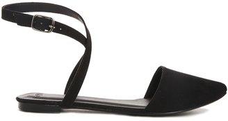 Asos LA BAMBA Ballet Flats - Black