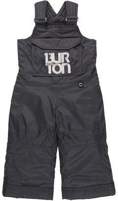 Burton Boys' Minishred Cyclops Bib Pant (Toddler/Little Kids/Big Kids) (True Black) - Apparel