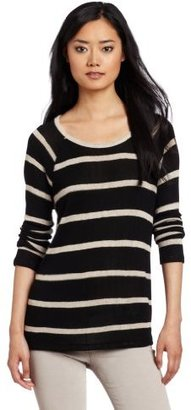 Joie Women's Dalya Striped 3/4 Sleeve Sweater