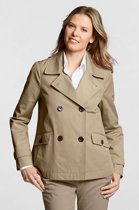 Lands' End Women's Regular Modern Rain Jacket