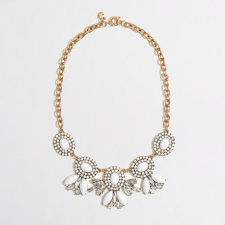 J.Crew Factory Factory cameo chandelier necklace