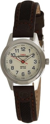 Timex - Silver-Tone EXPEDITION Metal Field Watches $55 thestylecure.com