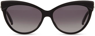 Christian Dior Cat-Eye Sunglasses, Black