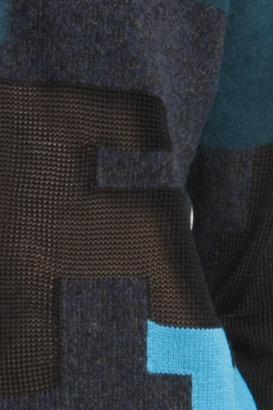 3.1 Phillip Lim Digital Brindle Pullover