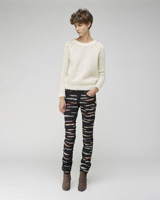 Isabel Marant Orson Zebra Jeans