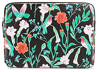 kate spade new york Jardin Floral & Hummingbird Laptop Case