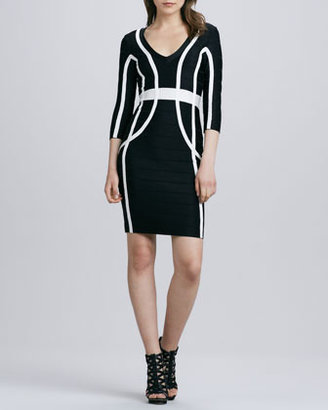 French Connection Spotlight Spring Graphic Bandage Dress (Blogger Pick!)