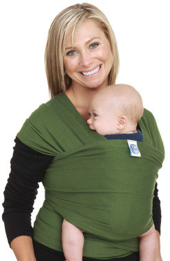 Moby Wrap Baby Carrier - Leaf