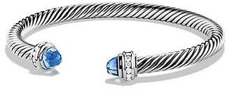 David Yurman Cable Classics Bracelet with Gemstone & Diamonds