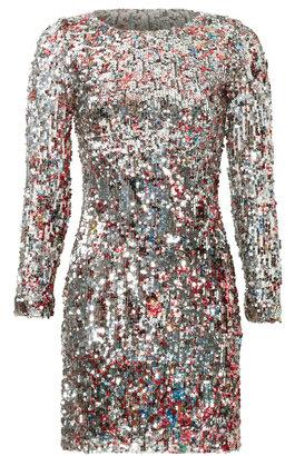Mark & James by Badgley Mischka Mini Sequin Pixie Dress