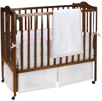 Baby Doll Bedding Forever Mine Port-a-Crib Set - Lilac