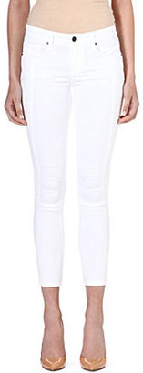 Genetic Denim Soma cropped skinny mid-rise jeans