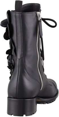 Valentino Techno Couture Combat Boot
