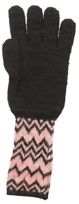 Missoni Zigzag Shimmer Gloves