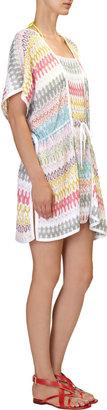 Missoni Flame Knit Short Kaftan