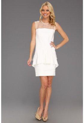 Nicole Miller Stretch Linen Dress