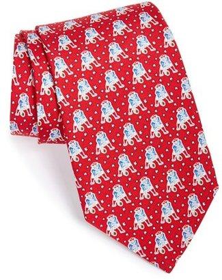 Men's Vineyard Vines New England Patriots Nfl Silk Tie $85 thestylecure.com