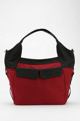 BDG Flap-Pocket Canvas Tote Bag