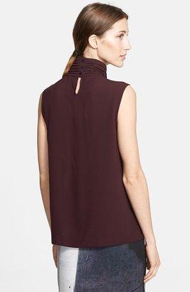 Yigal Azrouel Sleeveless Silk Top