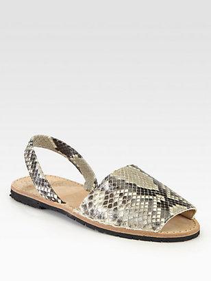 Ishvara Python Slingback Sandals
