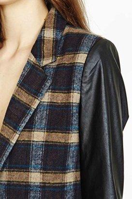 Nasty Gal Frosh Plaid Coat
