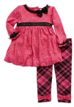 Nannette Baby Girls Two-Piece Plaid Set