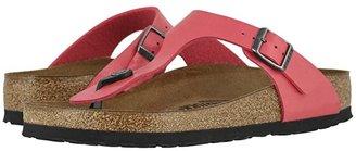 Birkenstock Gizeh Birko-Flortm (Black Patent Birko-Flortm) Women's Sandals
