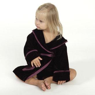 Childs Alesandra Silk Robe in Merlot