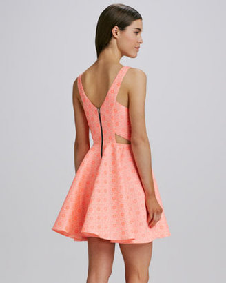 Dolce Vita Stacy Neon Tapestry Dress