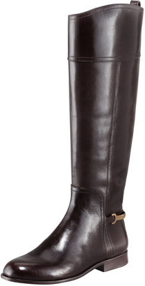 Tory Burch Jess Metal-Band Riding Boot