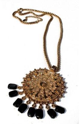 Theodora & Callum Medallion Stone Necklace