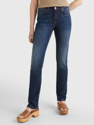 Tommy Hilfiger Rome Heritage Straight Fit Faded Jeans
