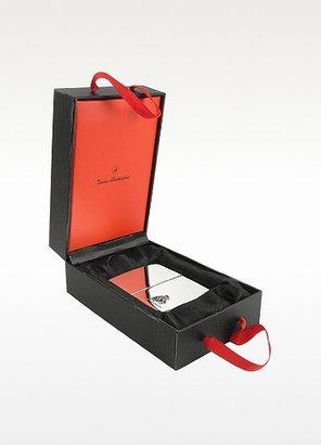 Lamborghini Tonino Silver Collection - Logo Travel Alarm Clock