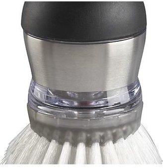Crate & Barrel OXO ® Soap Dispensing Palm Dish Brush