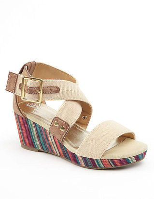 Kenneth Cole Reaction What A Loud Multi-Colored Wedge Sandals