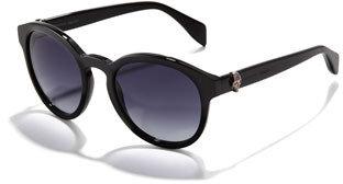 Alexander McQueen Round Skull Sunglasses