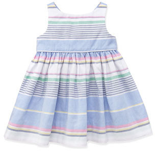 Ralph Lauren Little Run On Oxford Dress, 9-24 Months