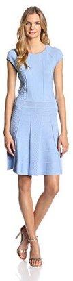 Cynthia Steffe Women's Tamra Pleated Knit Dress