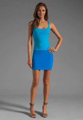 Susana Monaco Contrast Tank Dress