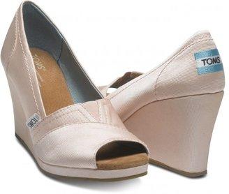 Toms Petal Grosgrain Women's Wedges