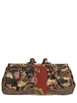Antonio Marras Vintage Patchwork Clutch