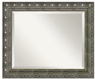 Amanti art barcelona pewter-tone wall mirrors