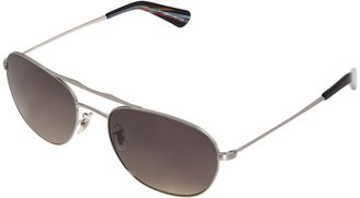 Paul Smith Callum - Polarized - Size 57 Metal Frame Fahion Sunglae