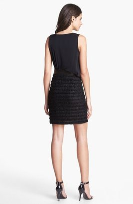 Milly Asymmetrical Blouson Dress