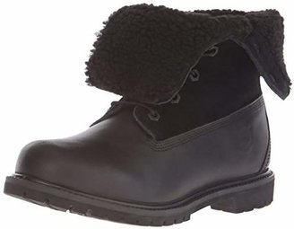Timberland Women's Teddy Fleece Fold-Down Waterproof Boot $92.61 thestylecure.com