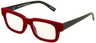 Eyebobs Velvet Underground Readers (Red Velvet/Matte Black) - Eyewear